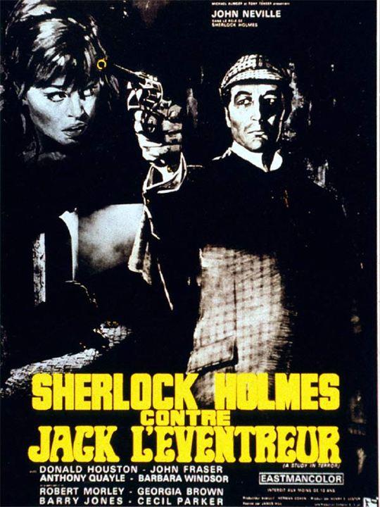 Sherlock Holmes contre Jack l'Eventreur : Affiche