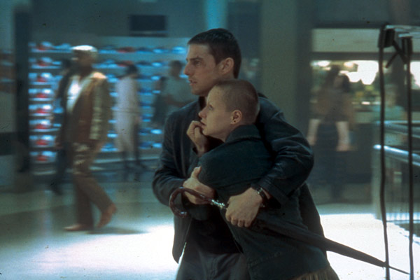 Minority Report : Photo Samantha Morton, Tom Cruise