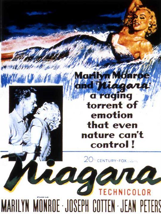 Niagara : Affiche Henry Hathaway, Marilyn Monroe