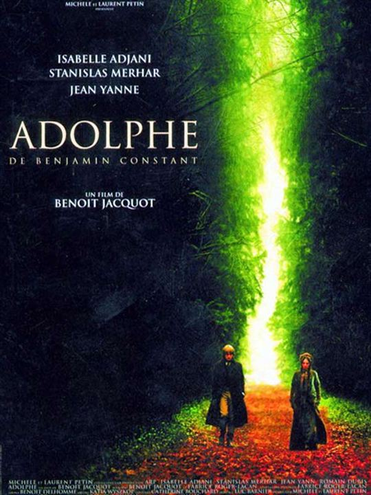 Adolphe : Affiche