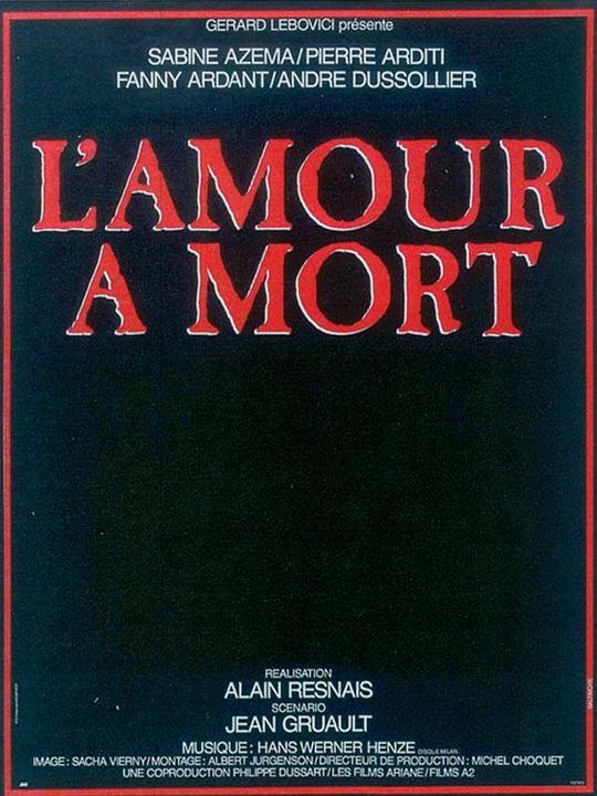 L'Amour à mort : affiche