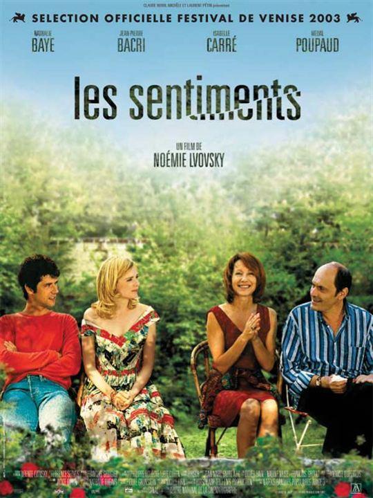 Les Sentiments : Affiche Jean-Pierre Bacri, Melvil Poupaud