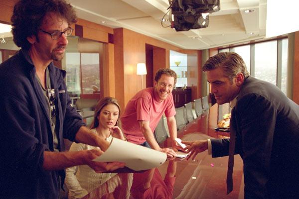 Intolérable cruauté : Photo Catherine Zeta-Jones, Ethan Coen, George Clooney, Joel Coen