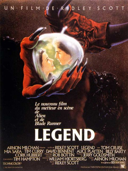 Legend : Affiche Tim Curry