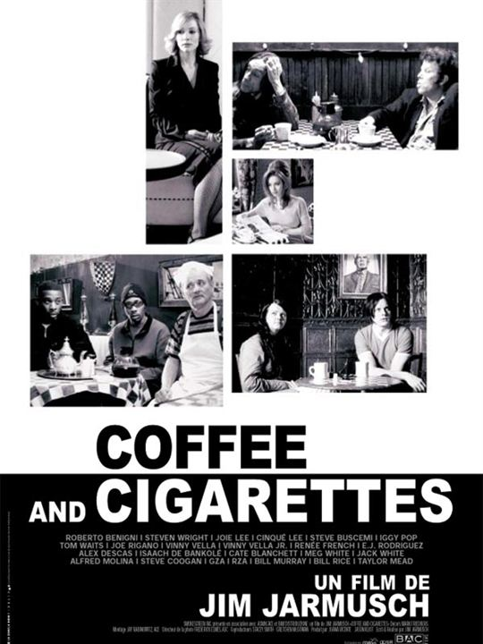 Coffee and cigarettes : Affiche