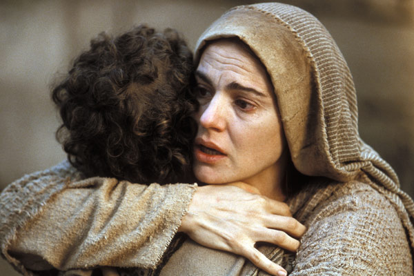 La Passion du Christ : Photo Maia Morgenstern, Mel Gibson
