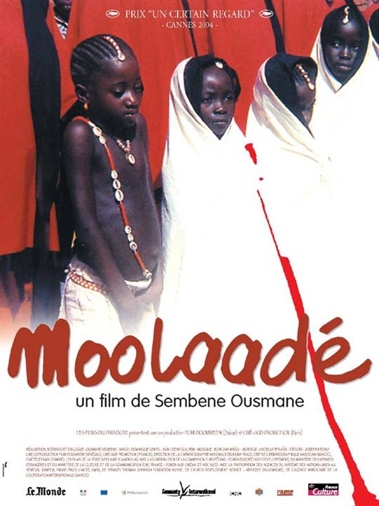 Moolaade : affiche Ousmane Sembene