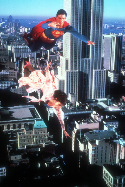 Superman : Photo Christopher Reeve, Margot Kidder