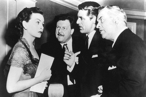 On murmure dans la ville : Photo Cary Grant, Jeanne Crain, Joseph L. Mankiewicz, Walter Slezak