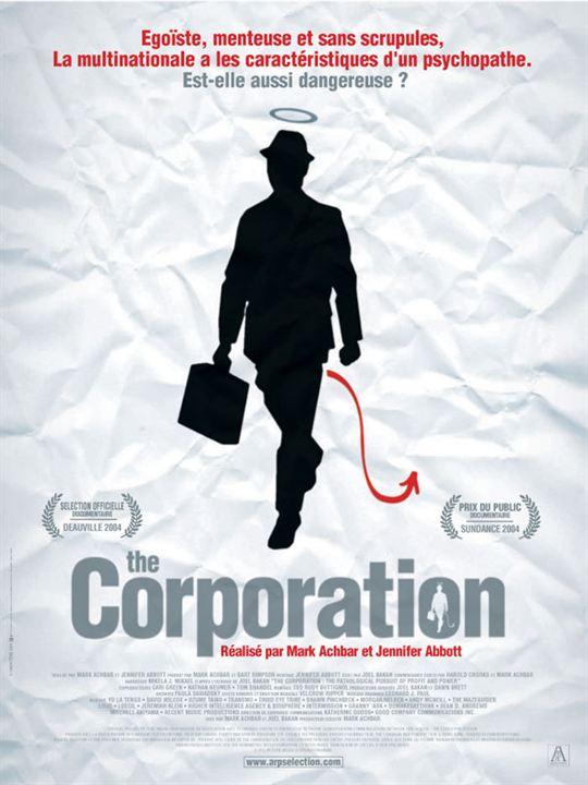 The Corporation : affiche Jennifer Abbott, Mark Achbar