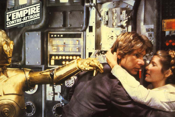 Star Wars : Episode V - L'Empire contre-attaque : Photo Anthony Daniels, Carrie Fisher, Harrison Ford, Irvin Kershner