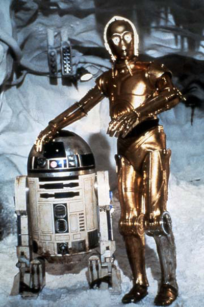 Star Wars : Episode V - L'Empire contre-attaque : Photo Anthony Daniels, Irvin Kershner, Kenny Baker