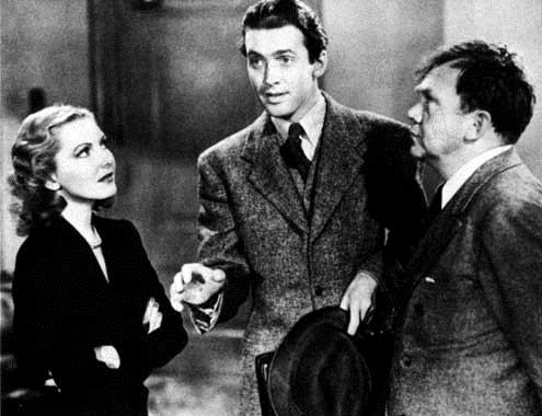 Mr. Smith au Sénat : Photo Frank Capra, James Stewart, Jean Arthur, Thomas Mitchell