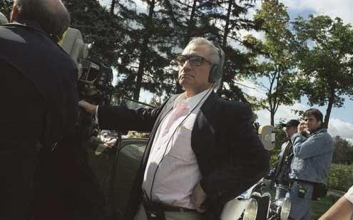 Aviator : Photo Martin Scorsese