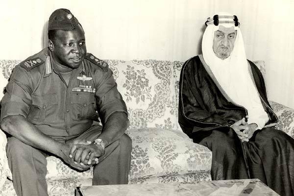 Général Idi Amin Dada : Autoportrait : Photo Barbet Schroeder