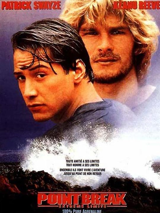Point break extrême limite : Affiche Kathryn Bigelow