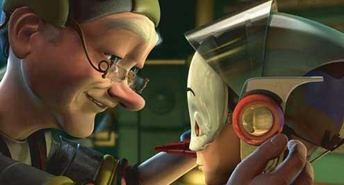 Pinocchio le robot : photo Daniel Robichaud