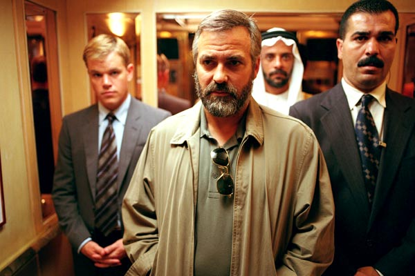 Syriana : Photo Alexander Siddig, George Clooney, Matt Damon, Stephen Gaghan