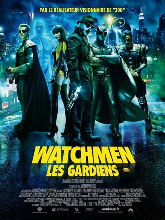Watchmen - Les Gardiens : Affiche