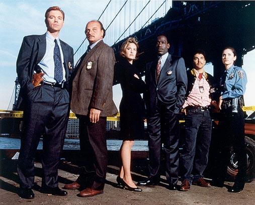 New York Police Blues : Photo Amy Brenneman, David Caruso, Dennis Franz, James McDaniel, Nicholas Turturro