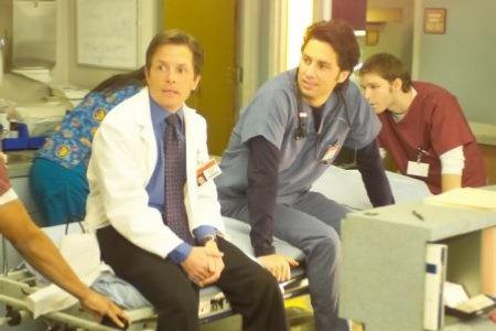 Scrubs : Photo Michael J. Fox, Zach Braff