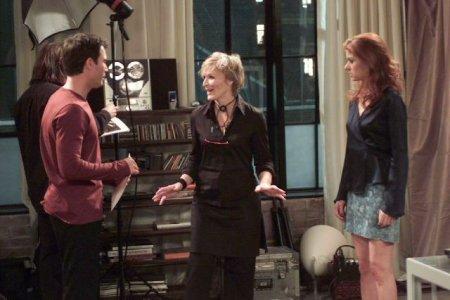 Will & Grace : Photo Debra Messing, Eric McCormack, Glenn Close