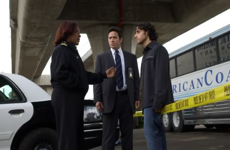 Numb3rs : Photo CCH Pounder, David Krumholtz, Rob Morrow