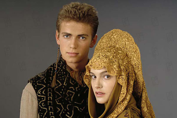 Star Wars : Episode II - L'Attaque des clones : Photo Hayden Christensen, Natalie Portman