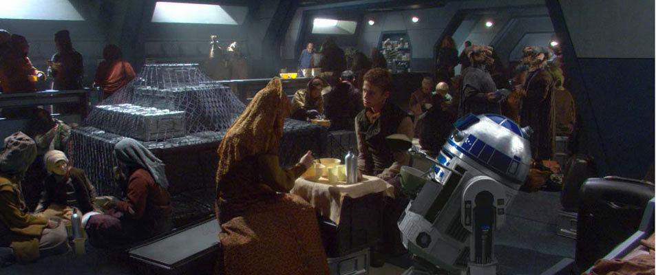 Star Wars : Episode II - L'Attaque des clones : Photo Hayden Christensen, Kenny Baker, Natalie Portman