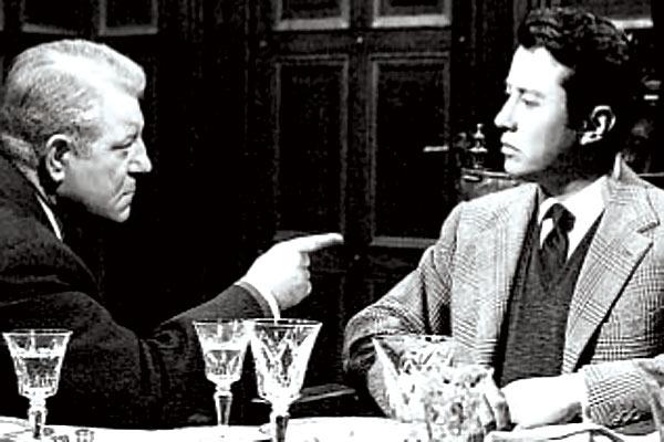Maigret et l'affaire Saint-Fiacre : Photo Jean Delannoy, Jean Gabin, Maurice Biraud