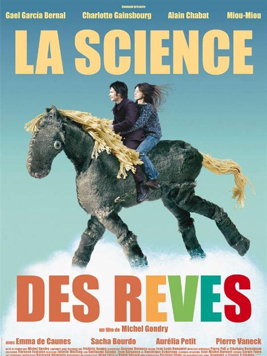 La Science des rêves : Affiche Michel Gondry
