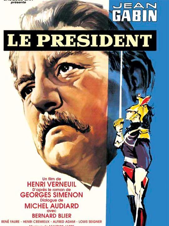 Le Président : affiche Henri Verneuil, Jean Gabin