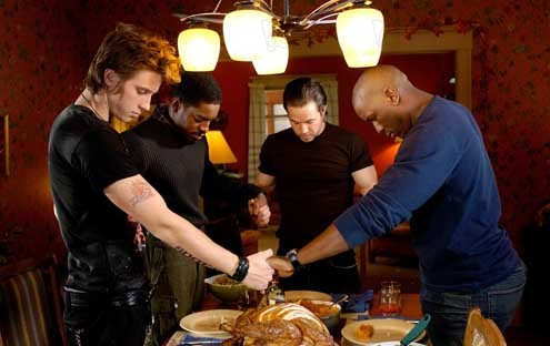 Quatre frères : Photo André Benjamin, Garrett Hedlund, John Singleton, Mark Wahlberg, Tyrese Gibson
