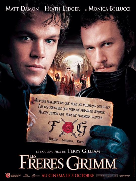 Les Frères Grimm : Affiche Terry Gilliam