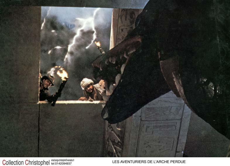 Les Aventuriers de l'Arche perdue : Photo Harrison Ford, John Rhys-Davies
