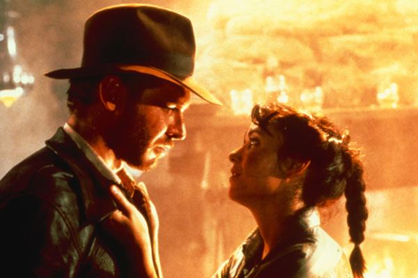 Les Aventuriers de l'Arche perdue : Photo Harrison Ford, Karen Allen