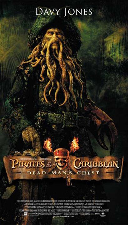 Pirates des Caraïbes : le Secret du Coffre Maudit : Affiche Bill Nighy