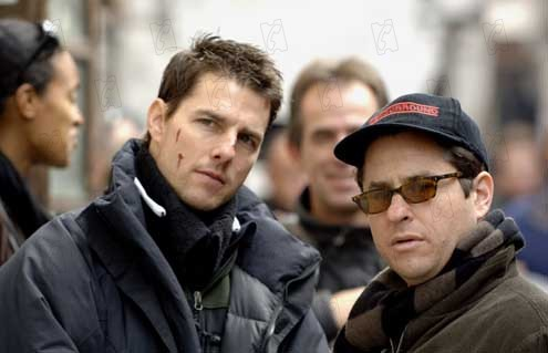 Mission: Impossible III : Photo J.J. Abrams, Tom Cruise