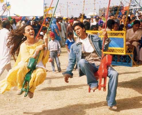 Veer-Zaara : Photo Preity Zinta, Shah Rukh Khan, Yash Chopra