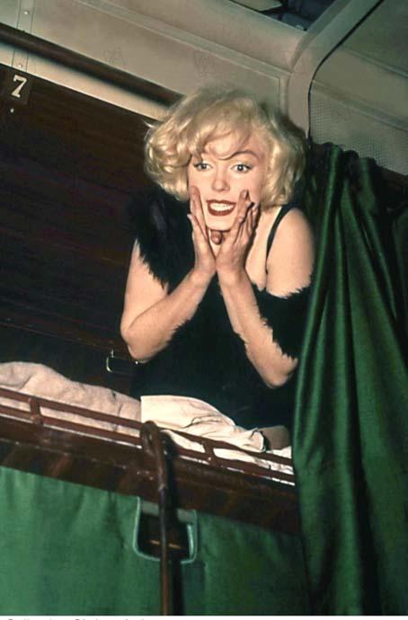 Certains l'aiment chaud : Photo Marilyn Monroe