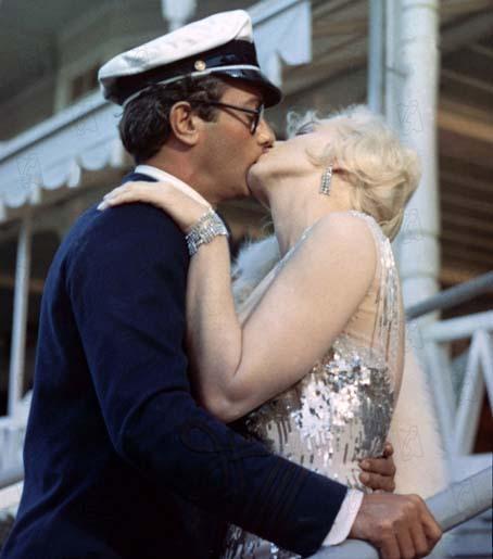 Certains l'aiment chaud : Photo Marilyn Monroe, Tony Curtis