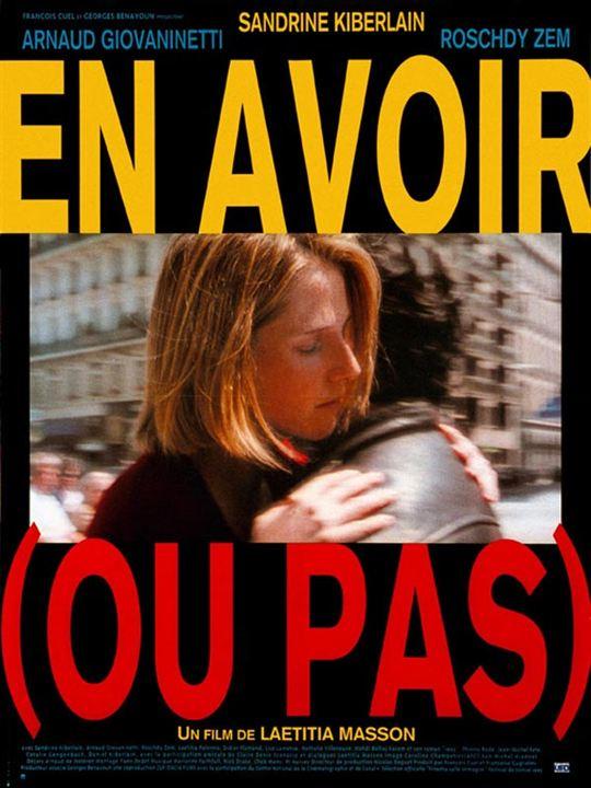En avoir (ou pas) : affiche Laetitia Masson