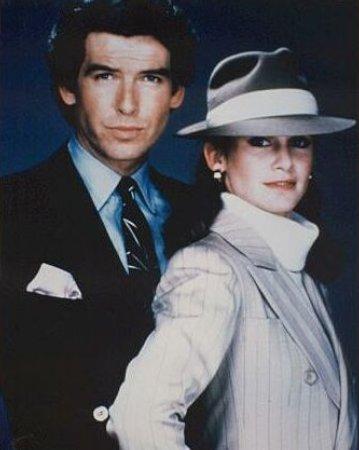 Les Enquêtes de Remington Steele : Photo Pierce Brosnan, Stephanie Zimbalist