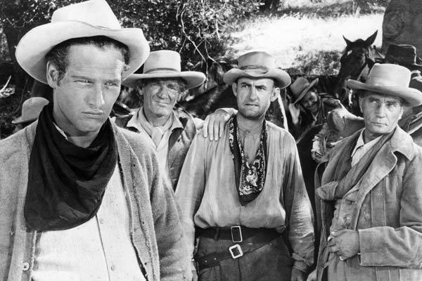 Le Gaucher : Photo Arthur Penn, Paul Newman