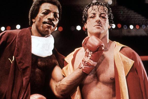 Rocky : Photo Carl Weathers, John G. Avildsen, Sylvester Stallone