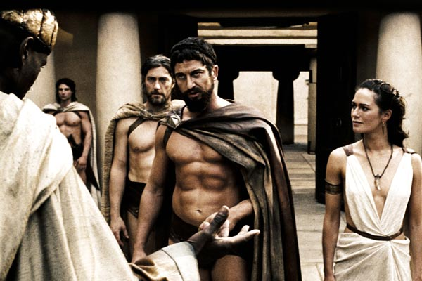 300 : Photo Gerard Butler, Lena Headey, Peter Mensah, Vincent Regan