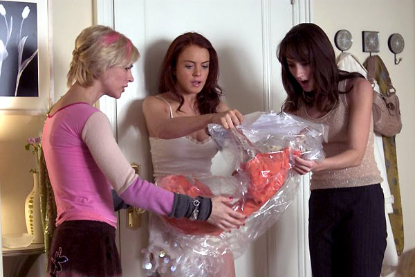 Lucky girl : Photo Bree Turner, Donald Petrie, Lindsay Lohan, Samaire Armstrong