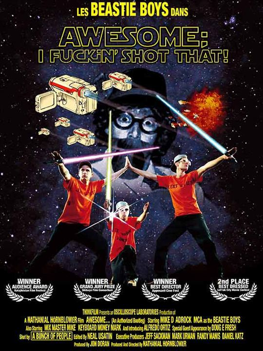 Awesome; I Fuckin' Shot That! : Affiche Adam Horovitz, Adam Yauch, Mike D