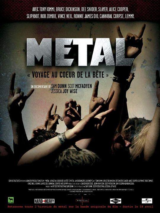 Metal : voyage au coeur de la bête : affiche