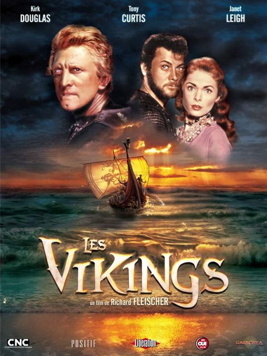 Les Vikings : Affiche